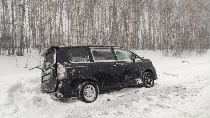 Женщина погибла в ДТП в Новосибирской области
