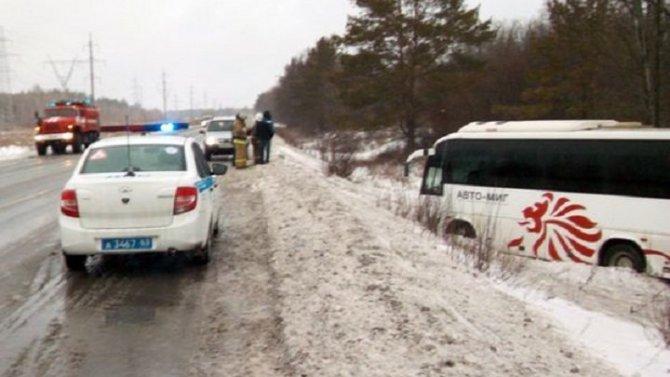 Автобус с детьми попал в ДТП в Самарской области