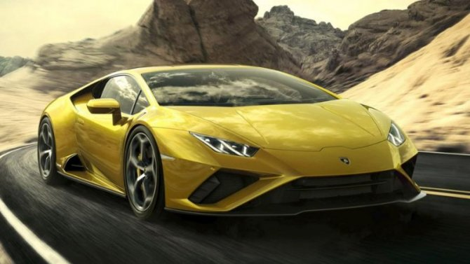 ВРоссии начат приём заказов нановый Lamborghini Huracan