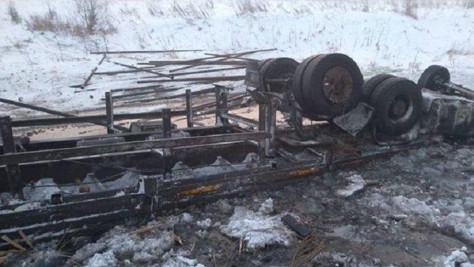 Водитель КамАЗа погиб в ДТП в Татарстане