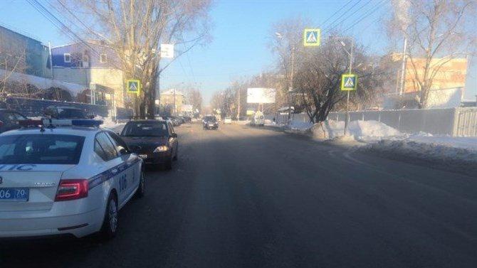 В Томске иномарка сбила 8-летнего ребенка на переходе