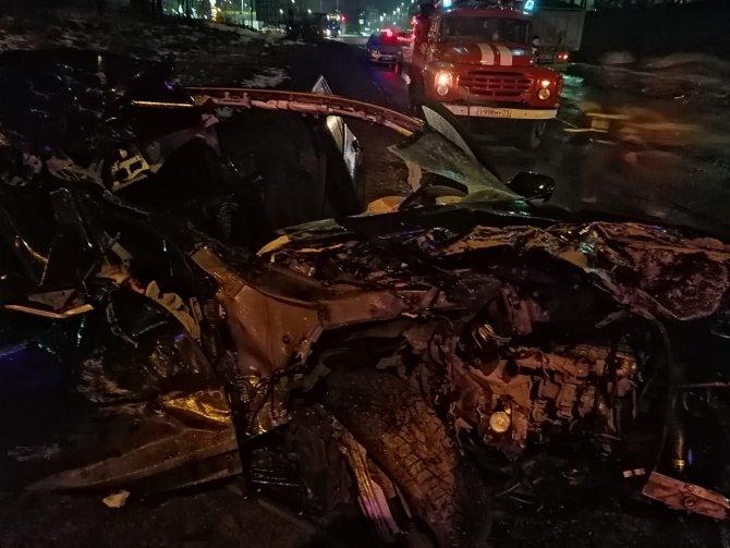Девушка погибла в ДТП в Туле (2)