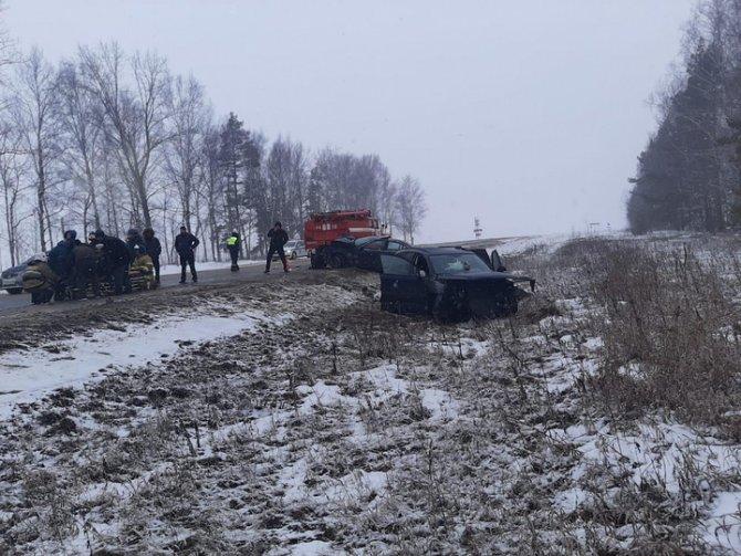 7-летняя девочка погибла в ДТП в Рязанской области (1)