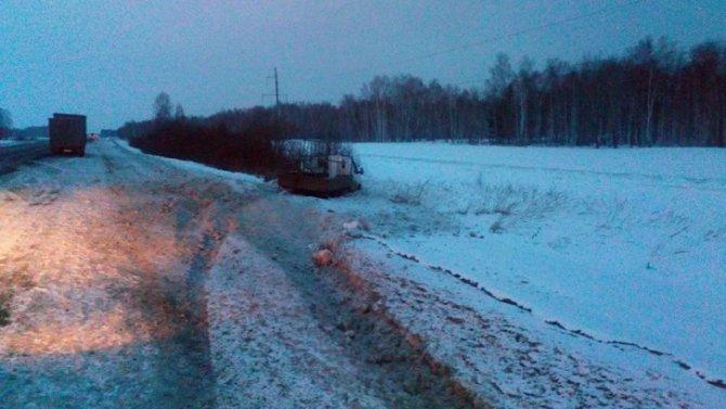 Водитель «Газели» погиб в ДТП в Курганской области (2)