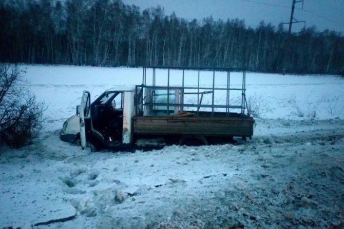 Водитель «Газели» погиб в ДТП в Курганской области (1)
