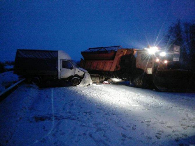 Водитель «Газели» и тракторист погибли в ДТП в Новосибирской области (3)
