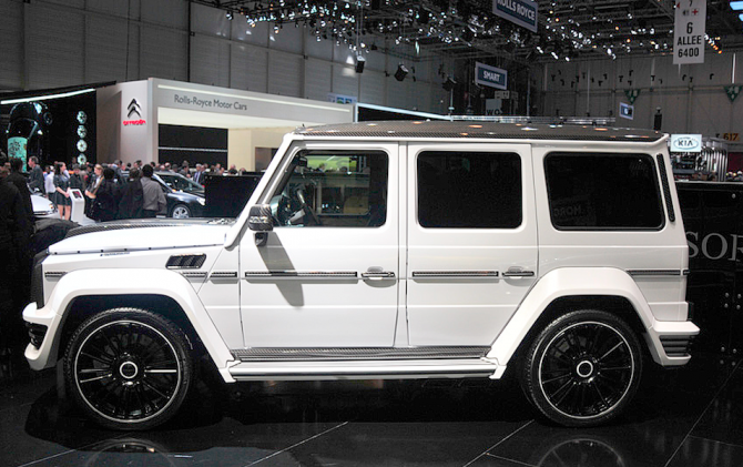 Mercedes Benz G 55 AMG Mansory G-Couture 700 л.с.