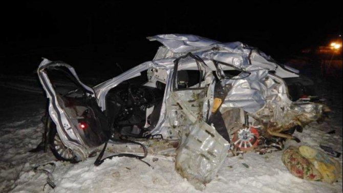 Отец и сын погибли в ДТП в Мордовии