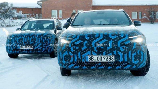 Mercedes-Benz тестирует новые электромобили