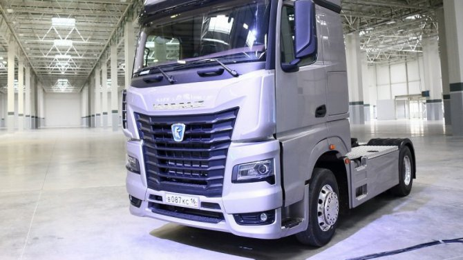 «КамАЗ» рассказал опланах продаж своих грузовиков