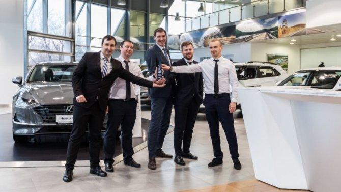 АВИЛОН 7 год подряд завоевывает титул «Лучшего дилера по корпоративным продажам Hyundai»!