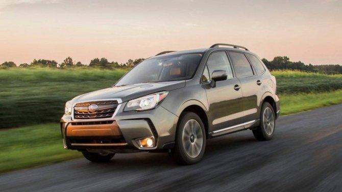Объявлен отзыв автомобилей Subaru