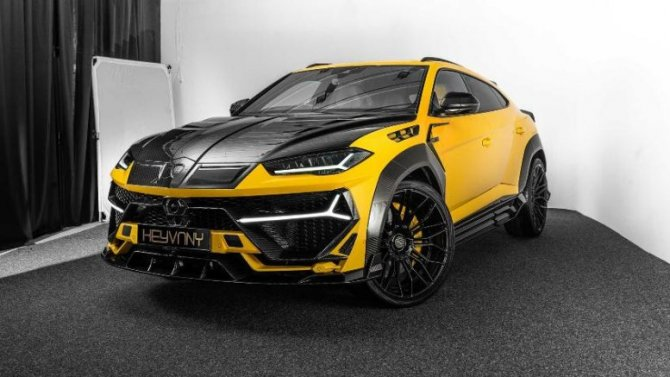 ВГермании «взбодрили» Lamborghini Urus