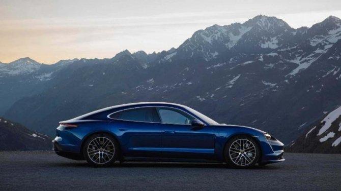 Porsche Taycan Turbo: пробег оказался больше заявленного