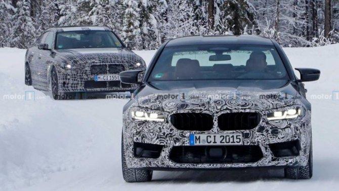 В Швеции тестируется новый BMW M5