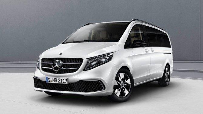 ВРоссию приедут «ночные» Mercedes-Benz V-Кlasse