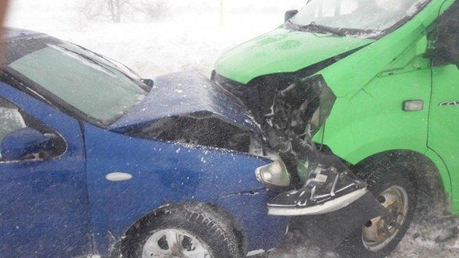 Двое детей пострадали в ДТП под Оренбургом