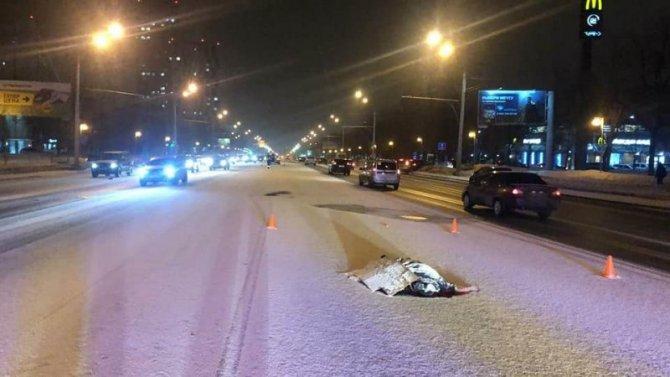 В Уфе иномарка насмерть сбила пешехода