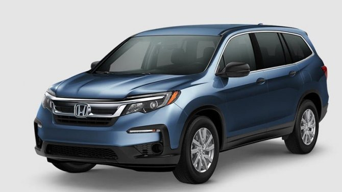 Изменились цены накроссовер Honda Pilot