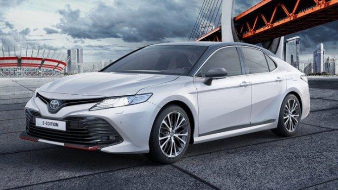 ВРоссии появилась новая версия Toyota Camry