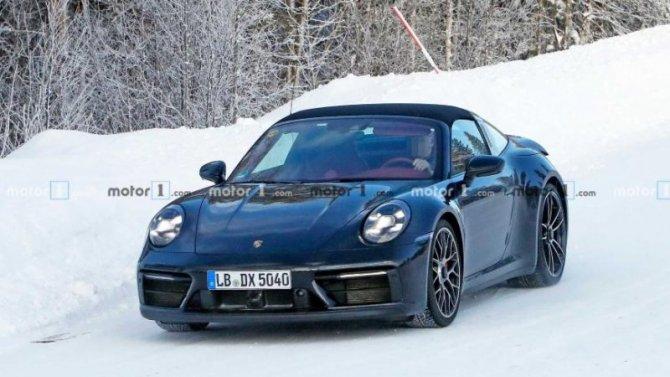 Обновлён спорткар Porsche 911 Targa GTS