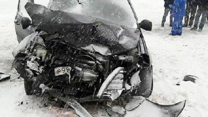 Женщина погибла в ДТП в Башкирии