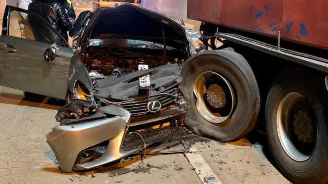 В ДТП в тоннеле вСочи погиб человек