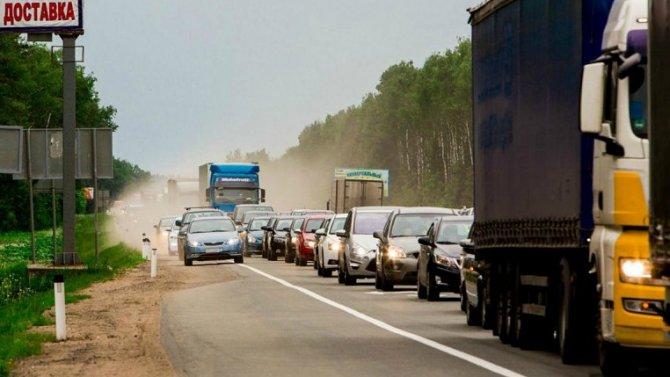 Водителям будут рассылать СМС синформацией обопасных участках дорог