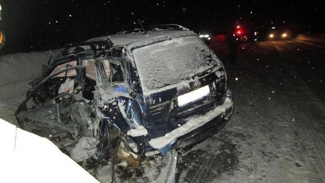 Девушка погибла в ДТП в Мурманской области