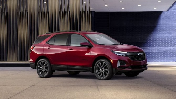 Чикаго-2020: показана ещё одна версия кроссовера Chevrolet Equinox