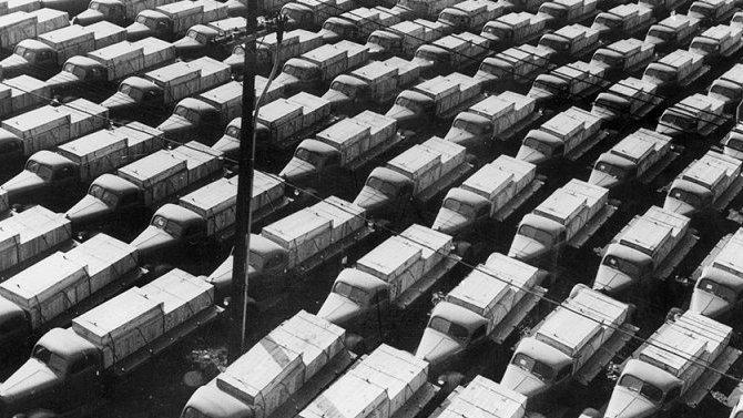 Встороне неостались: грузовики, полученные СССР вовремя войны поленд-лизу