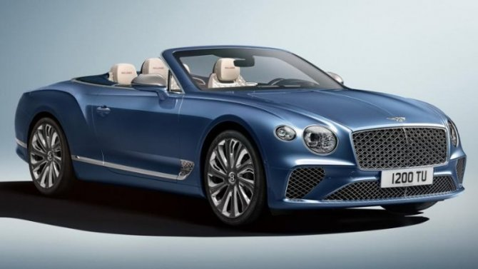 Bentley Continental GTС получил уникальную отделку