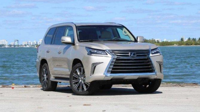 Lexus готовит конкурента для Cadillac Escalade