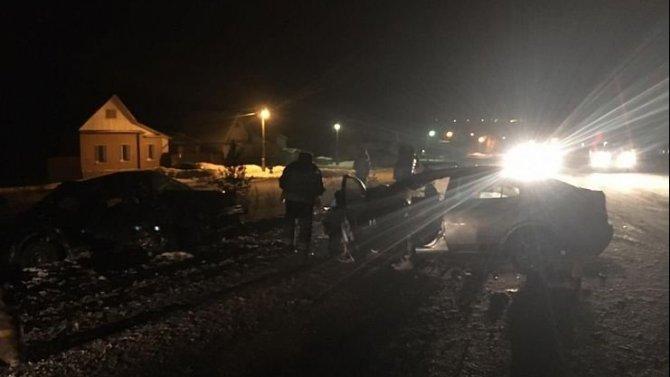 Два человека погибли в ДТП в Саткинском районе