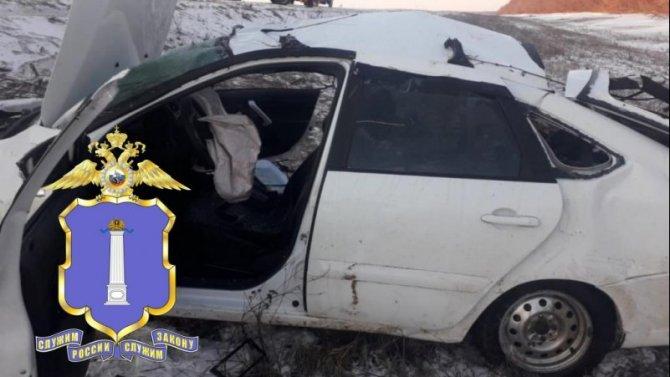Девушка погибла в ДТП в Кузоватовском районе