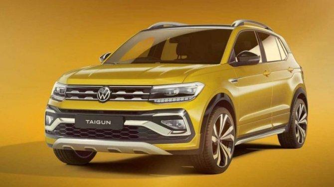 Volkswagen рассекретил свой новый кроссовер