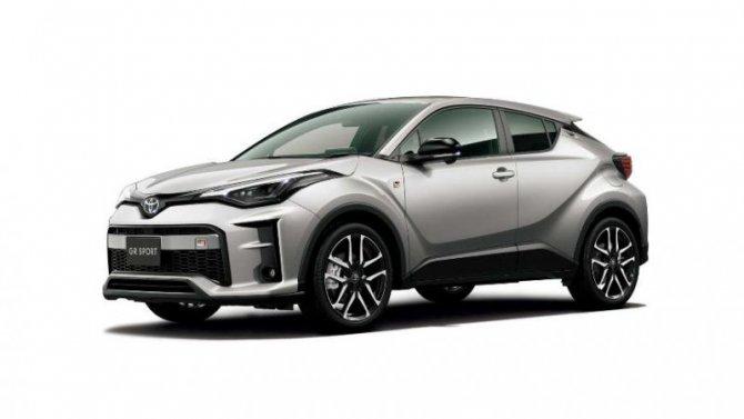 Кроссовер Toyota C-HR получит версию отGR