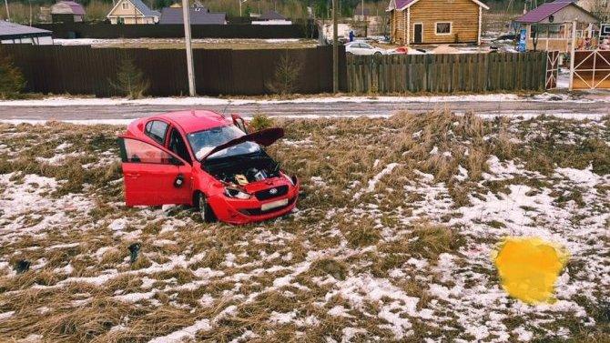 Водитель погиб в ДТП в Волосовском районе Ленобласти
