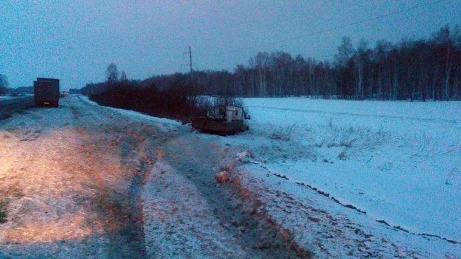 Водитель «Газели» погиб в ДТП в Курганской области