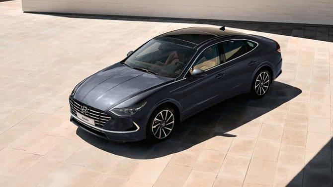 ВРоссии начались продажи Hyundai Sonata нового поколения