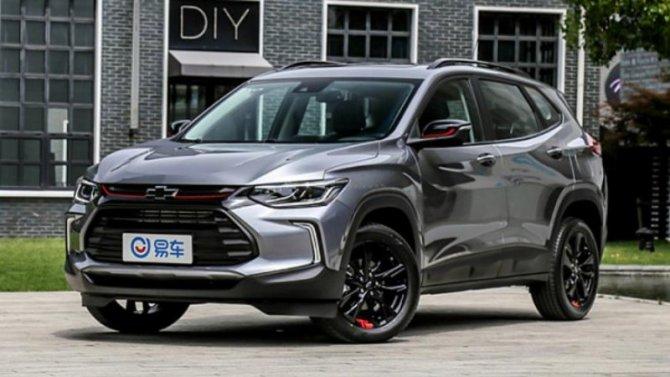Chevrolet Tracker расширяет географию продаж