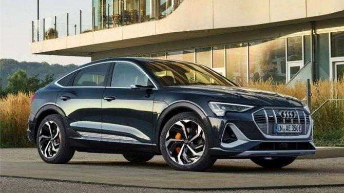 Остановлено производство электромобилей Audi e-Тron
