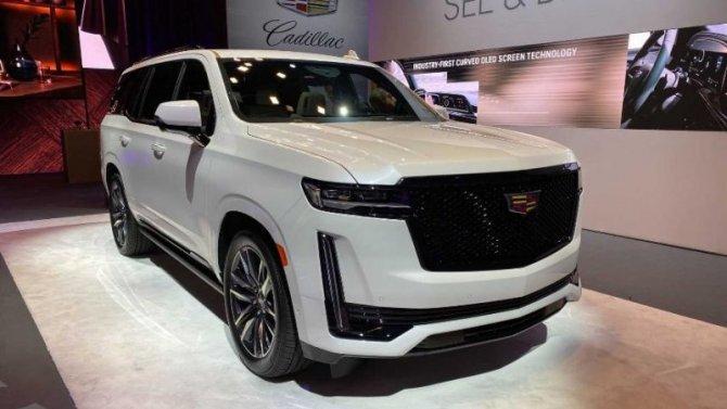 Представлен Cadillac Escalade нового поколения