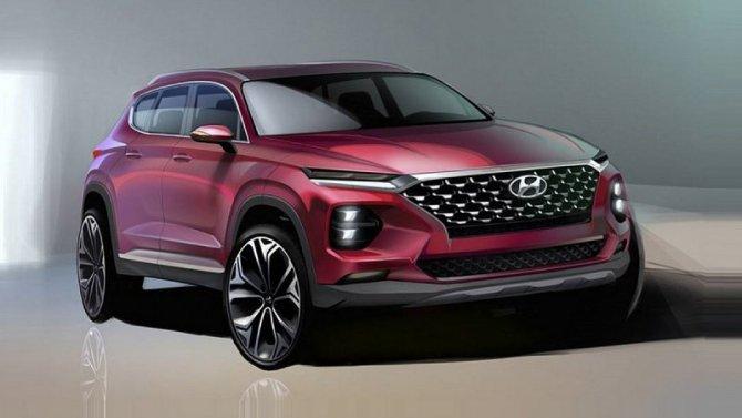 Новый Hyundai Santa Feпоявится унас уже вэтом году