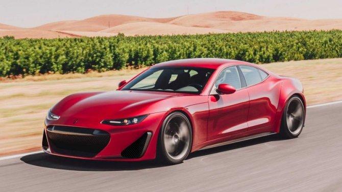 Появилась информация опервом электромобиле Ferrari