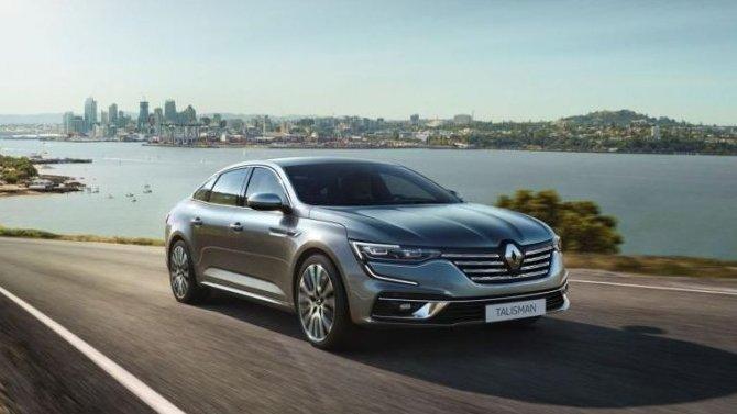 Представлен обновлённый Renault Talisman