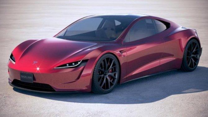 Чем похвалится Tesla Roadster?