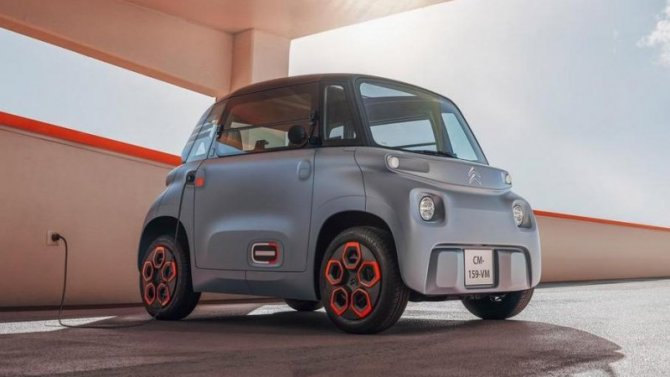 Citroen готовит сверхбюджетный электромобиль