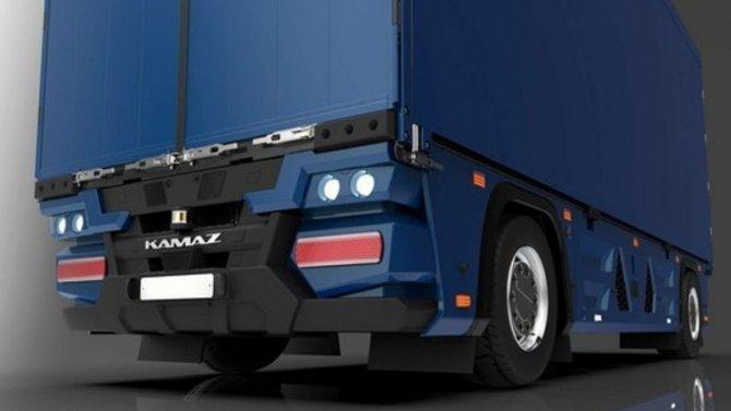 «КамАЗ» представил свой беспилотный грузовик