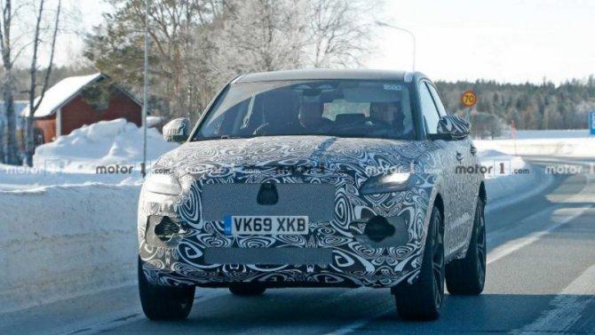 Испытывается обновлённый Jaguar E-Pace